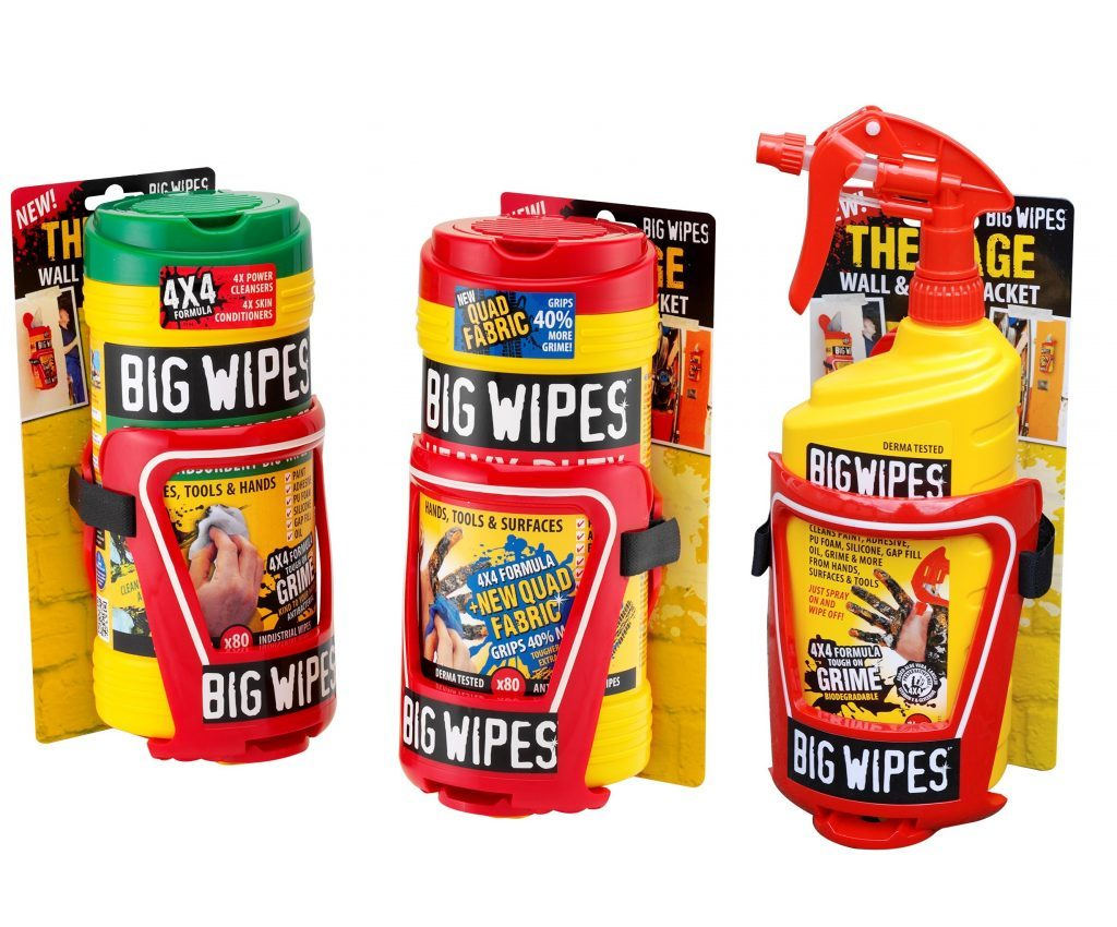 La Big Wipes Cage – Le support mural